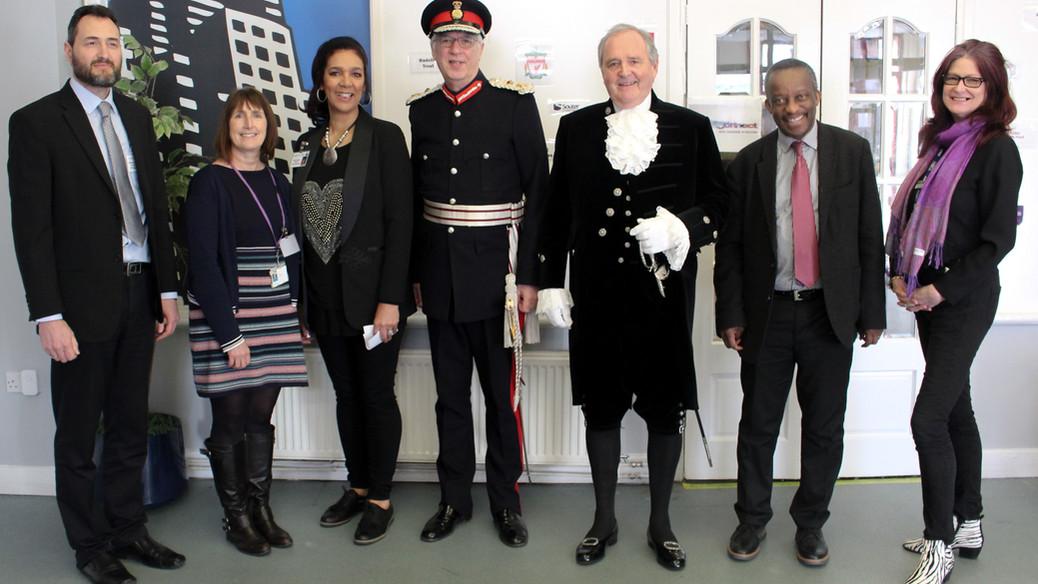 Mayors visit