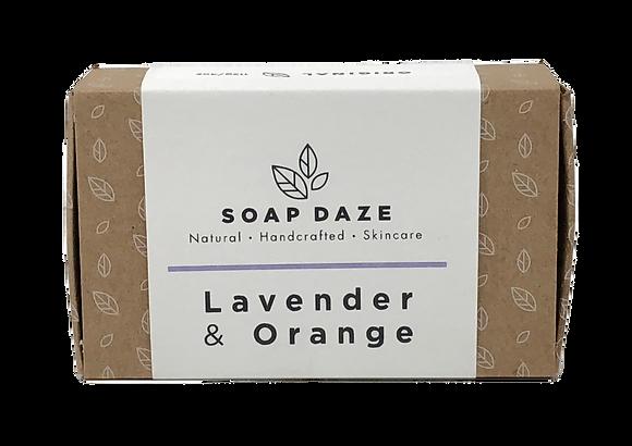 Soap Daze Natural Soap - Lavender & Orange