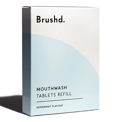 Brushd Mouthwash Tablets Refill - Peppermint