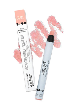 Beauty Made Easy Le Papier Lipstick - Coral