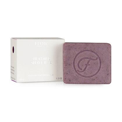 Flow Cosmetics Shaving Soap - Arctic Heather