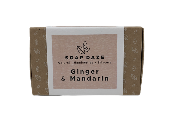 Soap Daze Natural Soap - Ginger & Mandarin
