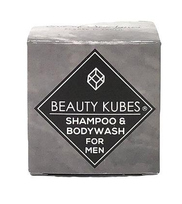 Beauty Kubes Shampoo & Body Wash - Mens