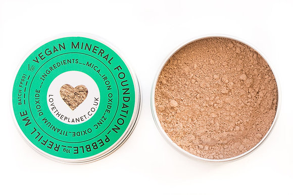 Love The Planet Mineral Foundation - Pebble