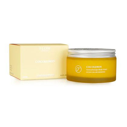 Flow Cosmetics Aromatherapy Body Polish - CocoLemon