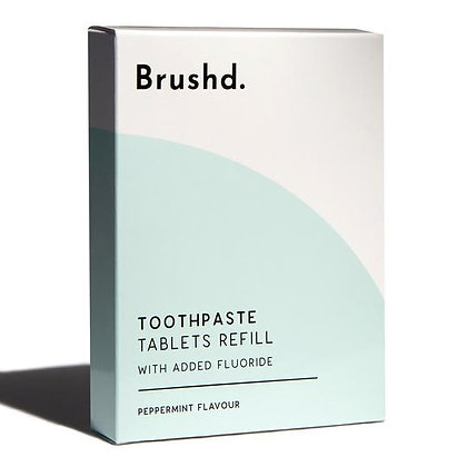 Brushd Toothpaste Tablets Refill - Fresh Mint
