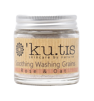 Kutis Soothing Washing Grains - Rose & Oat