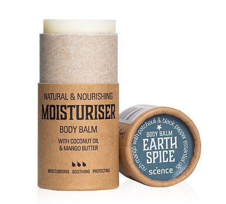 Scence Body Moisturiser - Earth Spice