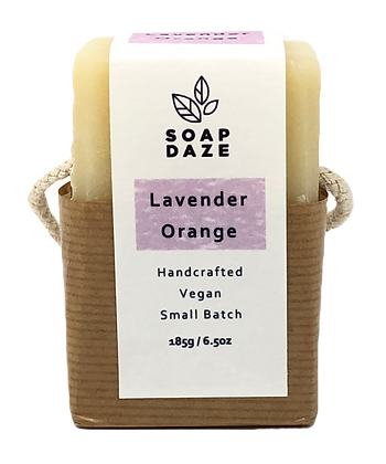 Soap Daze Natural Soap - Lavender & Orange