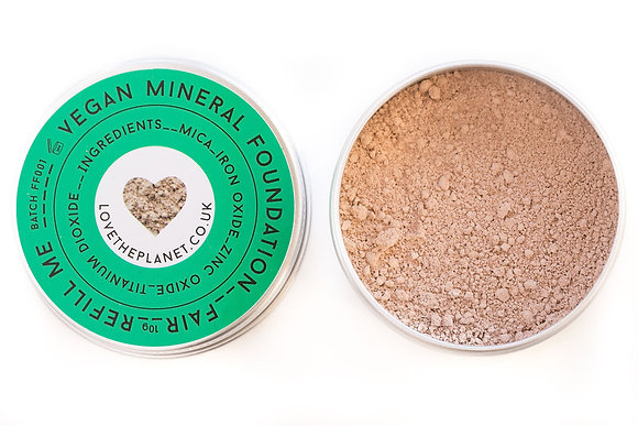 Love The Planet Mineral Foundation - Fair