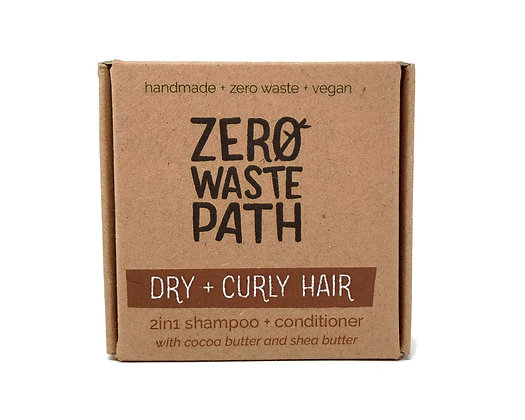 Zero Waste Path 2in1 Shampoo & Conditioner - Dry & Curly Hair