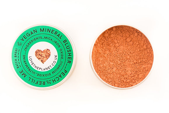 Love The Planet Mineral Blusher - Peach