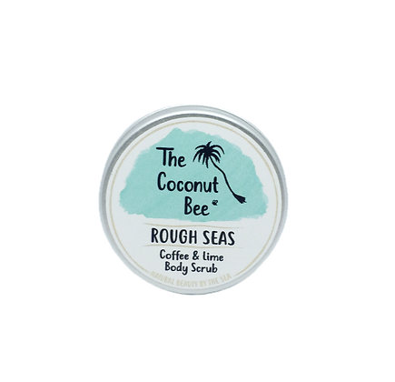 The Coconut Bee Rough Seas Body Scrub - Coffee & Lime