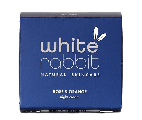 White Rabbit Night Cream - Rose & Orange