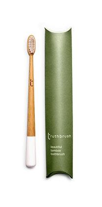 Truthbrush Soft Castor Oil Bristles - Cloud White