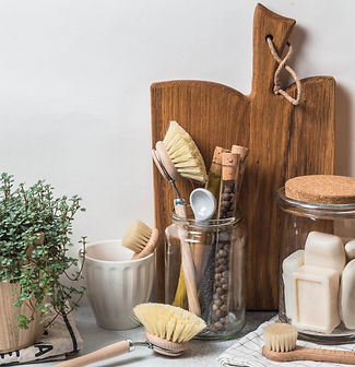 Zero waste concept. Eco-friendly kitchen