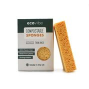 EcoVibe Compostable Sponge Twin Pack
