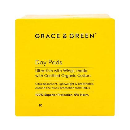Grace & Green Menstrual Pads - Day