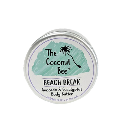 The Coconut Bee Beach Break Body Butter - Avocado & Eucalyptus