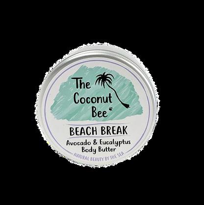 The Coconut Bee Beach Break Body Butter - Avocado & Eucalyptus