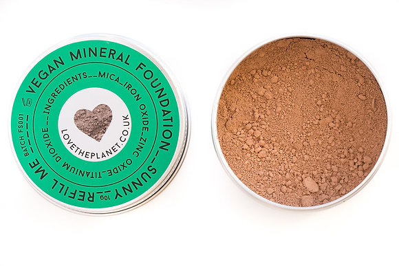 Love The Planet Mineral Foundation - Sunny