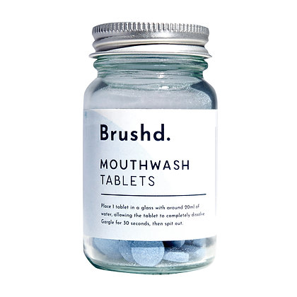 Brushd Mouthwash Tablets - Peppermint