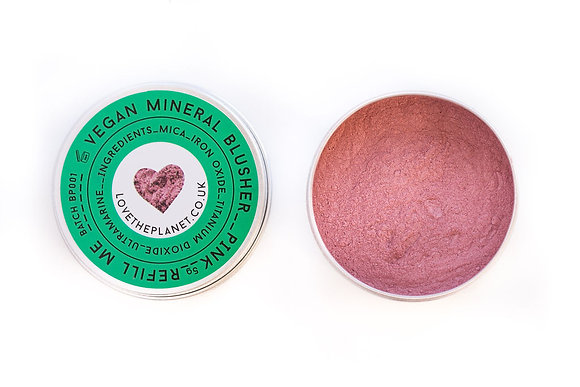 Love The Planet Mineral Blusher - Pink