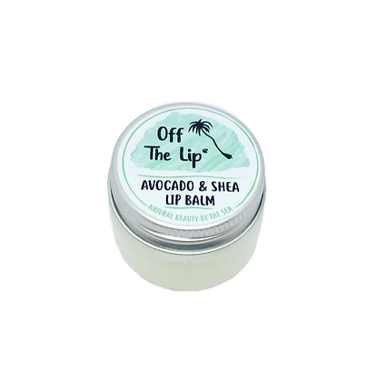The Coconut Bee Off the Lip Lip Balm - Avocado & Shea