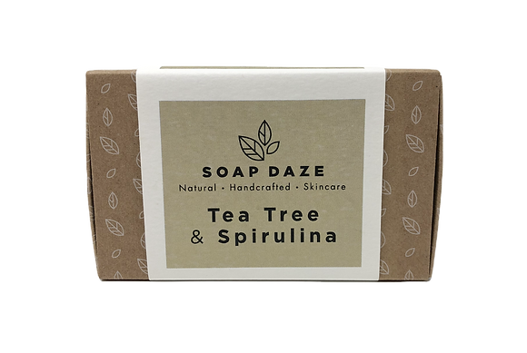Soap Daze Natural Soap - Tea Tree & Spirulina