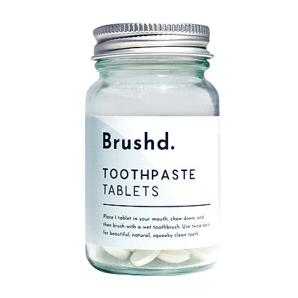 Brushd Toothpaste Tablets - Fresh Mint