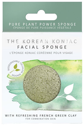 Konjac Sponge Co Facial Puff Sponge - French Clay