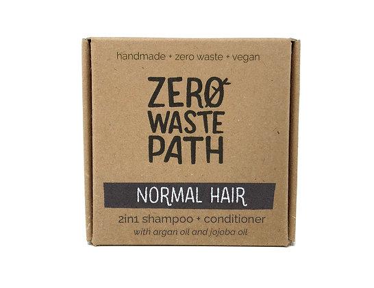 Zero Waste Path 2in1 Shampoo & Conditioner - Normal