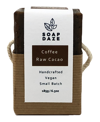 Soap Daze Natural Soap - Coffee and Raw Cacao
