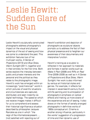 Sudden Glare of the Sun