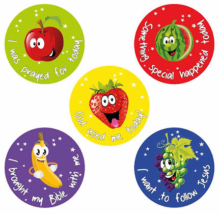 Children's Ministry Sticker Set
