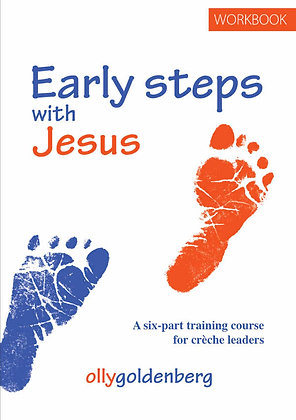 Pack of 5 Early Steps with Jesus workbook