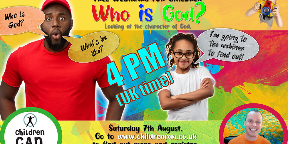 Who is God? 4pm