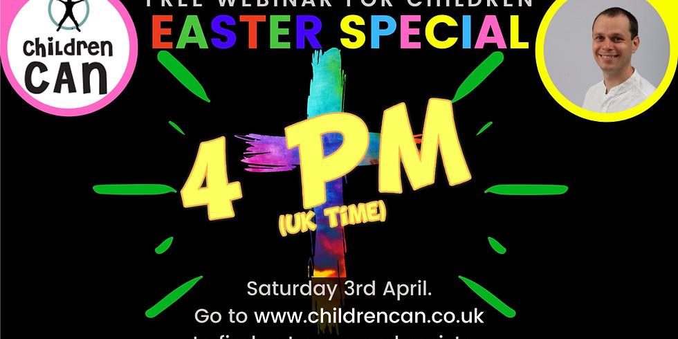 Easter Special Webinar 4PM