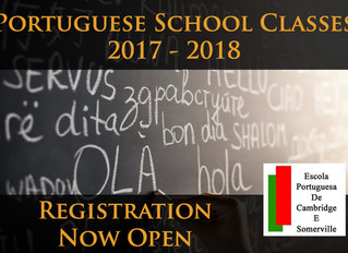 Registration opened for the Portuguese School year 2017 -2018