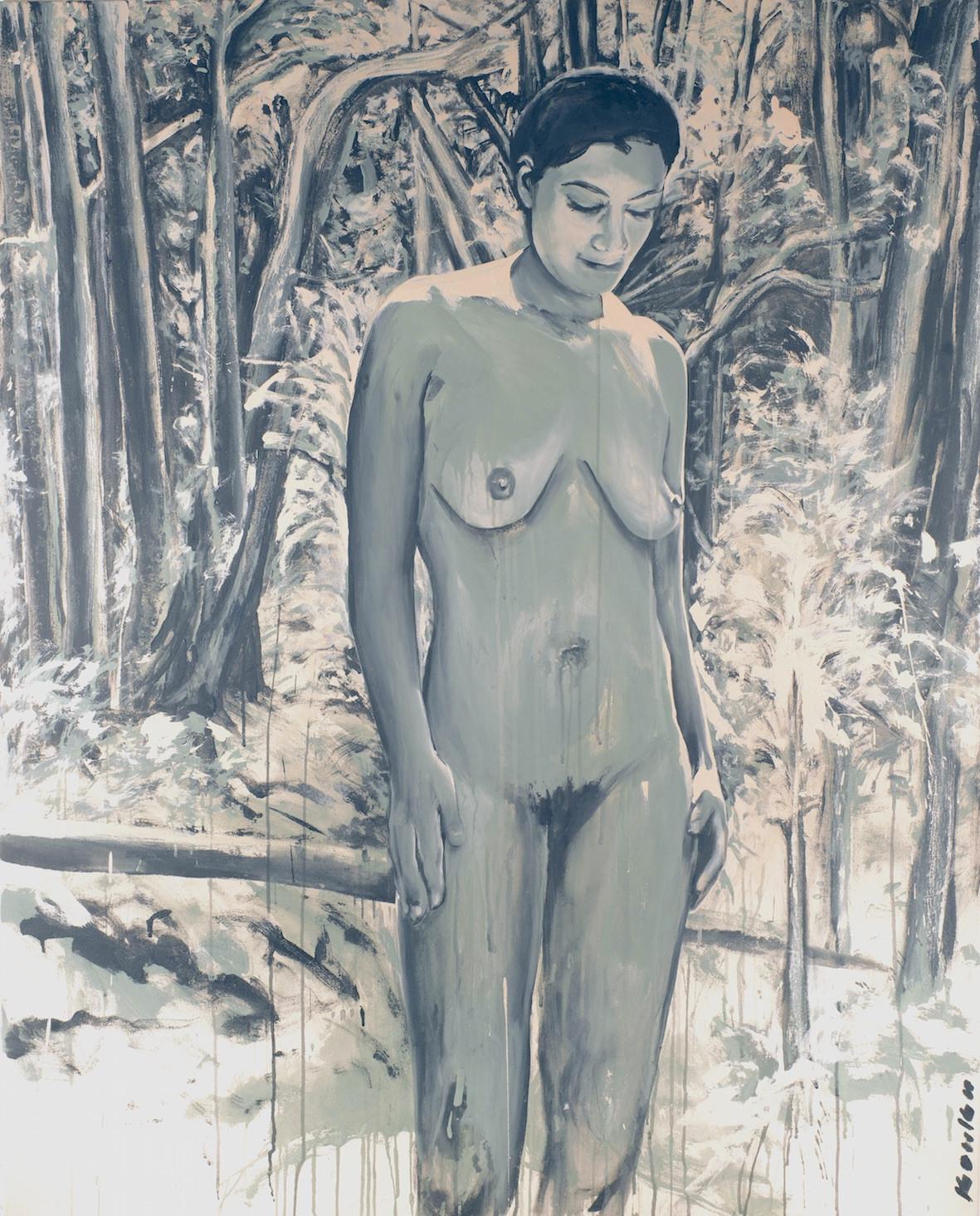 """""""Femme métisse nue dans la forêt 3"""""""