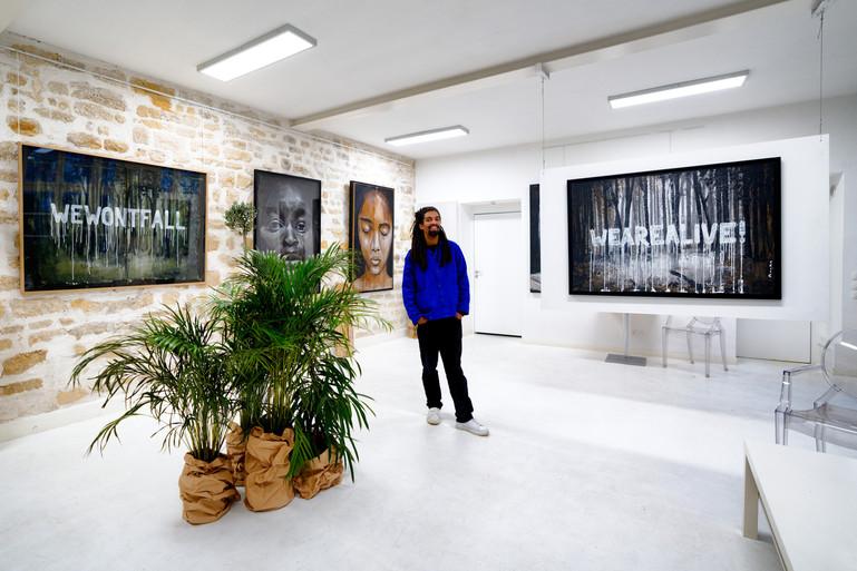 """UTOPIA"" Galerie Taglialatella Paris"