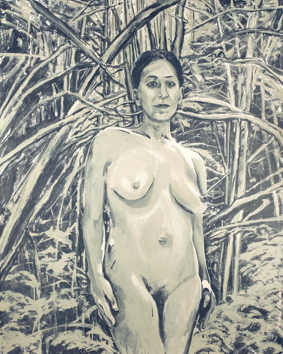 """""""Femme métisse nue dans la forêt"""""""