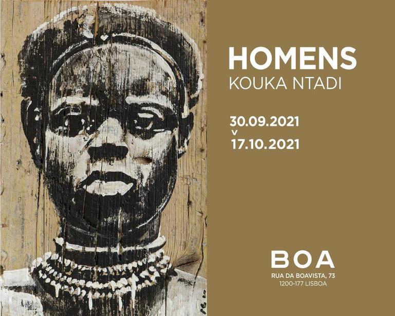 """""""Homens"""", A solo show by Kouka Ntadi"""