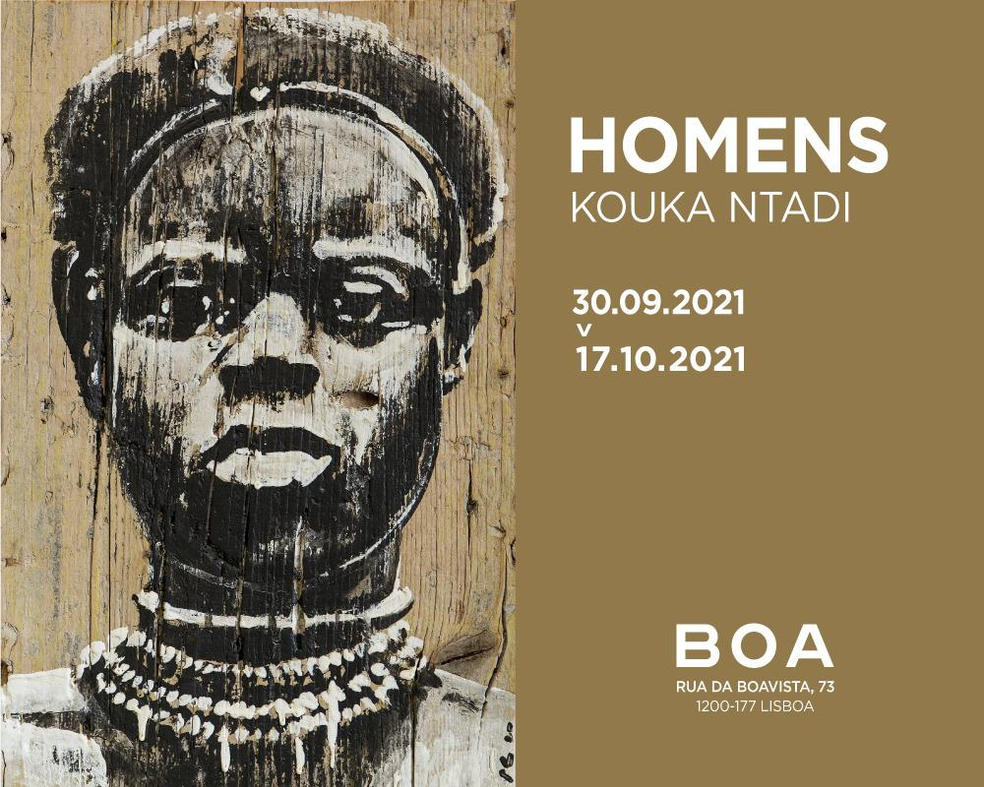"""""""Homens"""": Solo show, 30 sept. - 17 oct. in  Lisbon."""