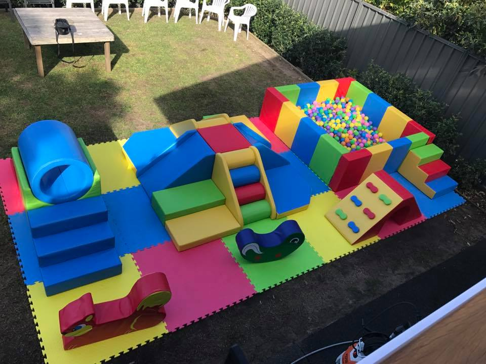 Toddler soft play equipment