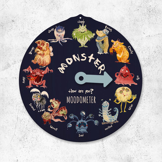 Moodometer with Monsters