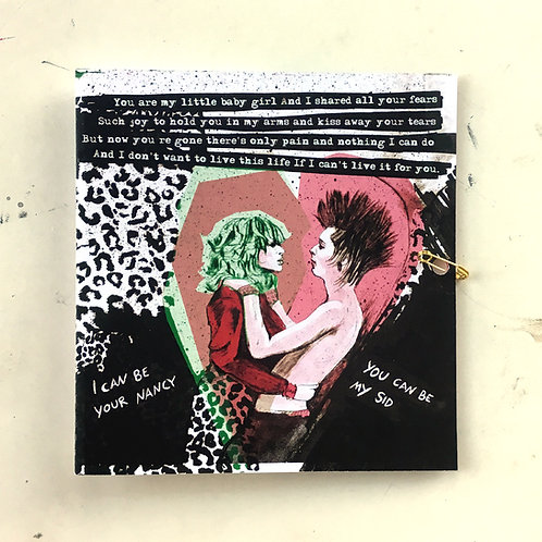 FOLD CARD Sid & Nancy