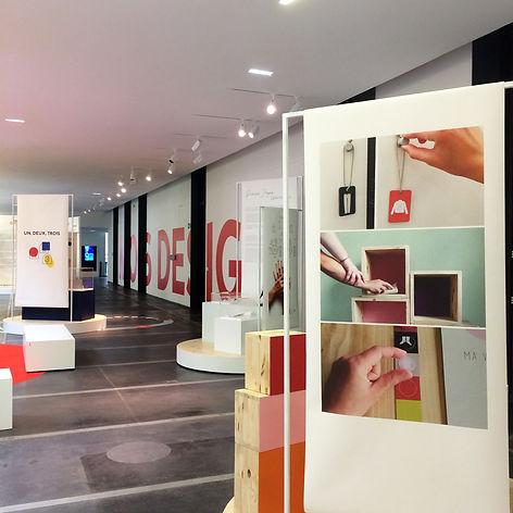 Mois design - Quai des savoirs - Scénographie d'exposition