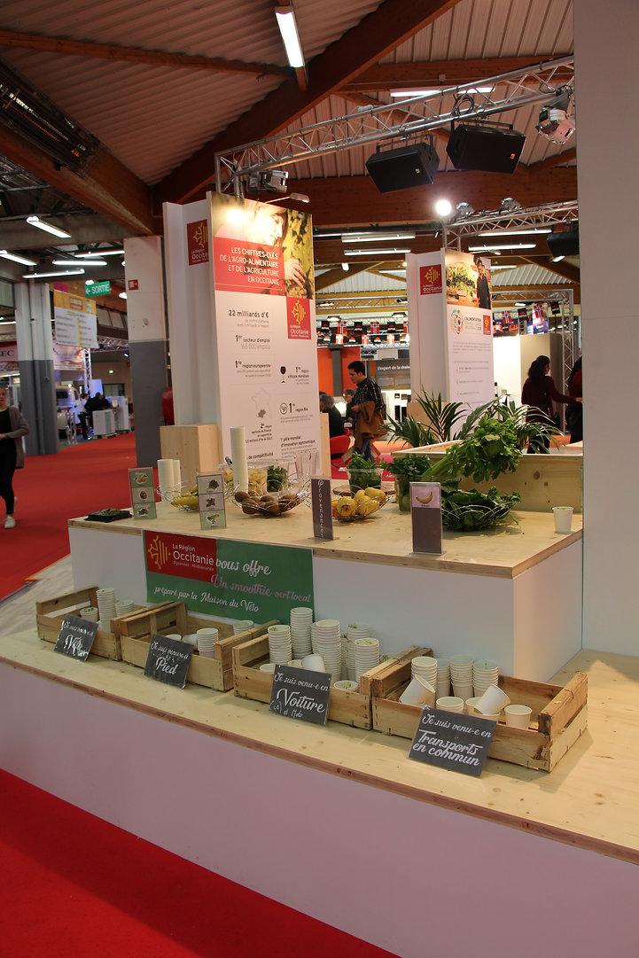 Foire internationale de Toulouse - Conception de stand