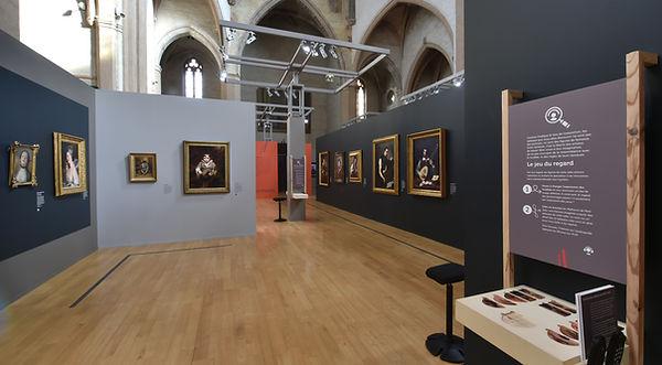 Ceci n'est pas un portrait - Scénographie d'exposition - Musée des Augustins - Toulouse